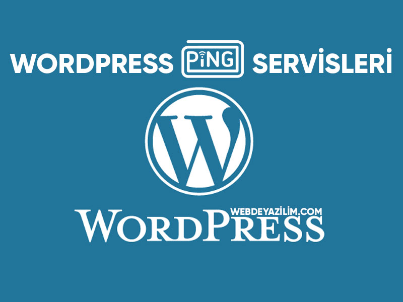 wordpress ping servisleri 2019