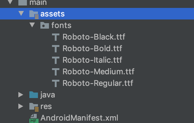 android-studio-fonts