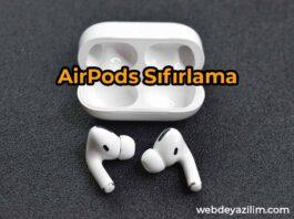 airpods sıfırlama - pro 2 resetleme