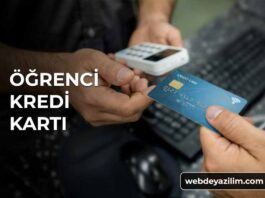 Öğrenci Kredi Kartı: Öğrencilere Özel Kredi Kartları